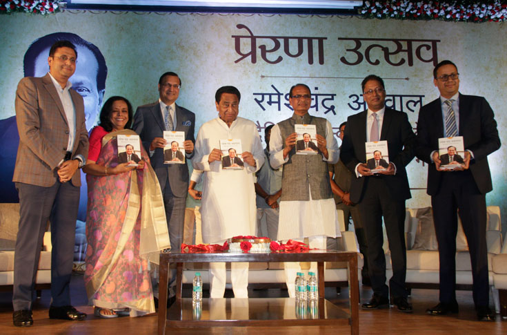 The books was launched in Bhopal on 30 November