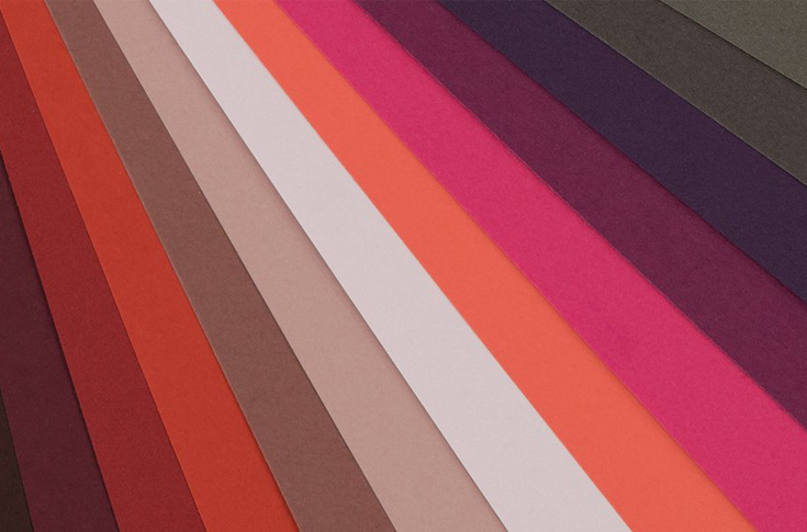 Keaykolour's uncoated virgin pulp papers and boards offer a palette of 48 halftone colours in nine harmonised families